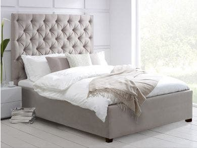 Elise Tall Storage Bed